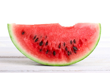 watermelon sliced white background