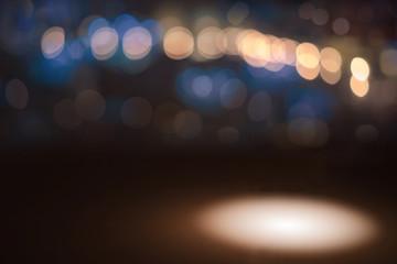 abstract background color bokeh spotlight