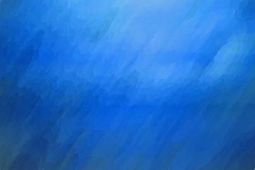 blue painting  - illustration based on own photo image