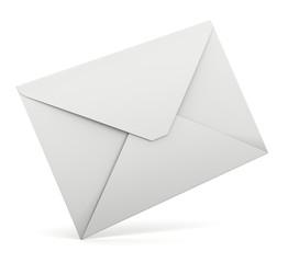 busta da lettera inclinata