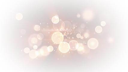 bright light circles abstract background