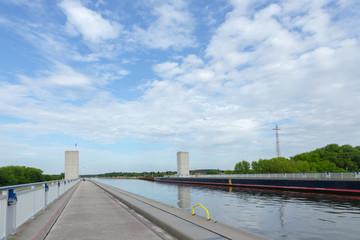 Brücke des Elbe-Havel-Kanals