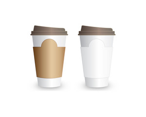 Blank Coffe Cup