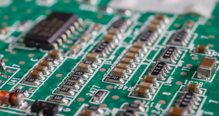PCB board and electronic semiconductor on board