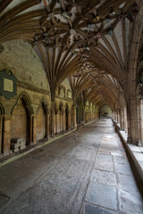 Cloister cathedral of Canterbury, Kent, England