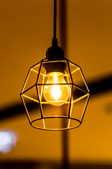 Retro light bulb decorating.