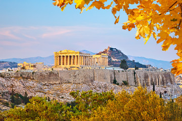 Stores photo Athenes Acropolis in Athens