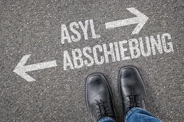 Entscheidung an der Kreuzung - Asyl oder Abschiebung