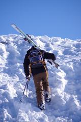 ski hors piste - ascension