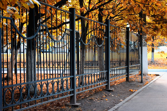 fence pattern perspective