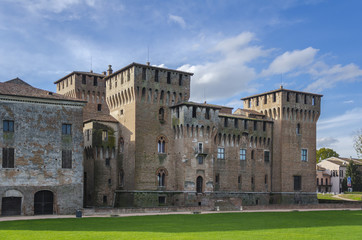 Mantua Castle of St. George, Italy