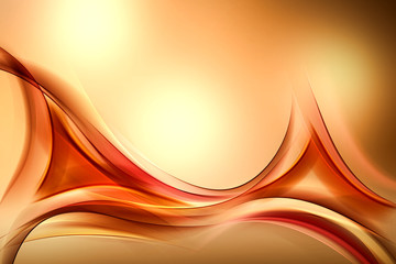 Awesome Modern Gold Abstract Design
