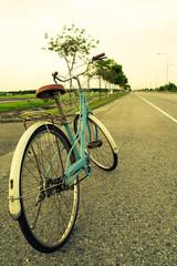 bicycle vintage. Split toning