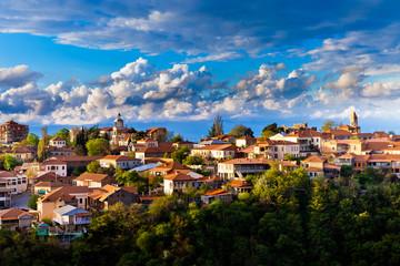 Sighnaghi (Signagi) city in Georgia