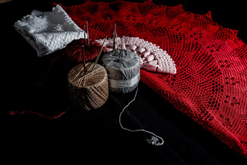 Crochet, Italian manufacture. made in Italy