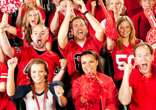 Fans: Crazy Fans Cheer for Team