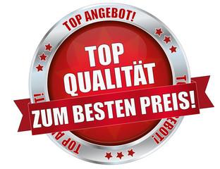 roter top Qualität Button