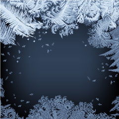 Frosty Window.