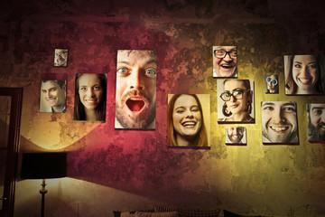 People's portraits