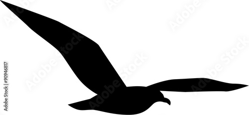 simple seagull flying stock image and royalty free vector files on rh fotolia com seagull vector image seagull vector silhouette