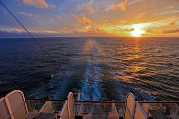 Cruising at Sunset