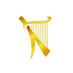 Letter K Harp