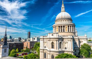 Saint Paul Cathedral Dome, London Fototapete