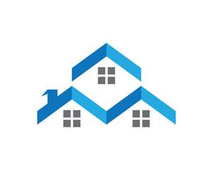 Arrow Property logo Template