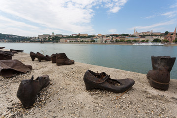 Shoes on the Danube Bank is a memorial in Budapest, Hungary