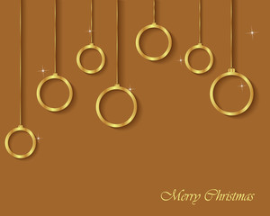 Christmas Greeting Card for happy Holidays