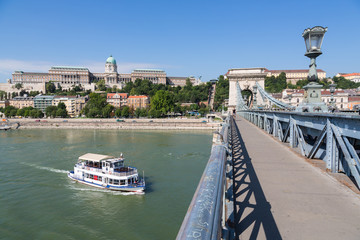 Chain Bridge - Szechenyi lanchid - Budapest