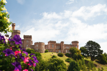 Inverness castle, Schottland