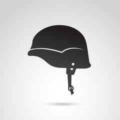 Solder helmet VECTOR icon.