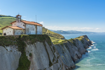 Chapel of San Telmo, Zumaia, Basque Country (Spain)