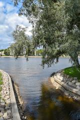 Lopukhinsky Garden in St.Petersburg, Russia