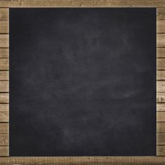 empty black chalkboard background