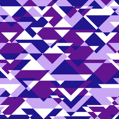 Vector background of repeating geometric triangles. triangles se