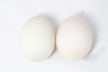 Organic Duck eggs vs Chicken eggs and preserved egg