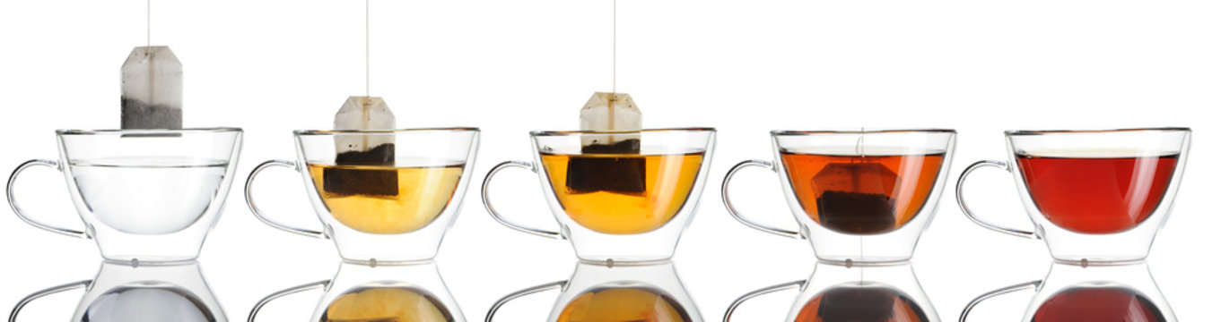 Teabag in the cup set