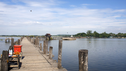 Ubein bridge, Mandalay
