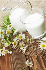 Milk and chamomile