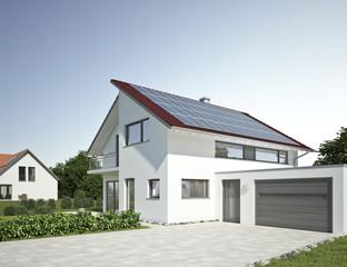 Einfamilienhaus Standard Solar
