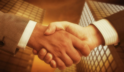 Business Concept with Handshaking