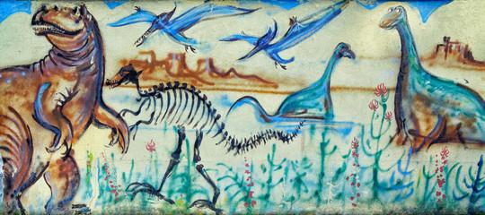 Graffiti Dino