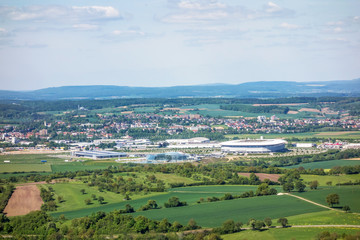 Rhein-Neckar Arena and Badewelt Sinsheim, Kraichgau