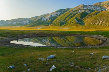 Campo imperatore, lago di Pietranzoni