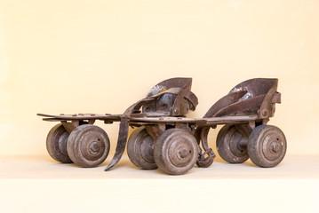 Old pair of roller skate