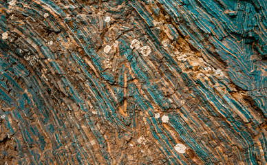 iron ore texture closeup