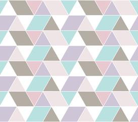 Geometry Pattern, Triangle, Rectangle, Rhombus, Trapezoid