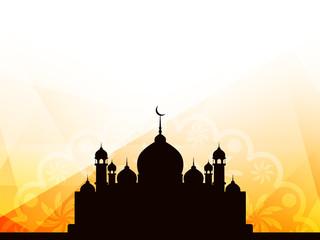 Religious Islamic background design